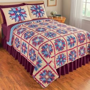 Colorful Country Quilt, Full/Queen